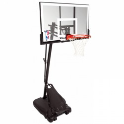 Spalding Basketball-Standanlage NBA Gold