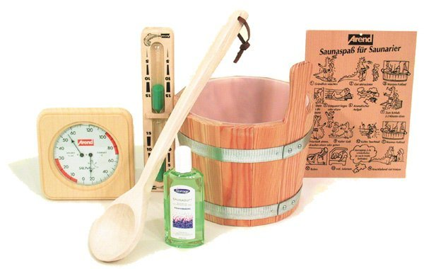 Arend set d'accessoire sauna
