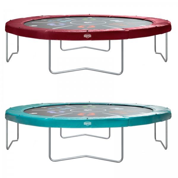 berg trampolin elite tattoo 430 cm kaufen test sport tiedje. Black Bedroom Furniture Sets. Home Design Ideas