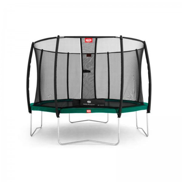 Berg Trampolin Favorit + Rete di Sicurezza Deluxe