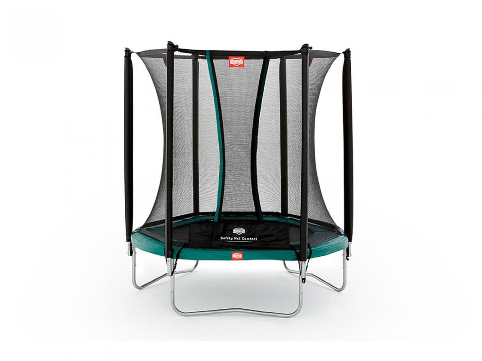 berg trampolin talent sicherheitsnetz comfort kaufen test sport tiedje. Black Bedroom Furniture Sets. Home Design Ideas