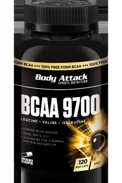 Body Attack BCAA 9700 (120 Kapseln)