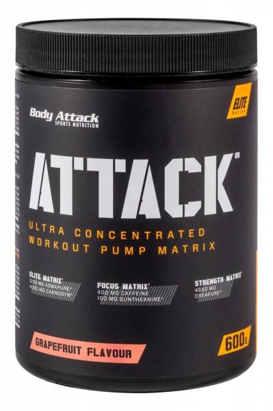Body Attack Trainingsbooster Attack + GRATIS T-Shirt