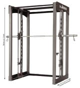 "BodyCraft 3D Smith Rack ""The Jones"" Detailbild"