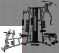 BodyCraft presse jambes pour la appareil de musculation Galena Detailbild