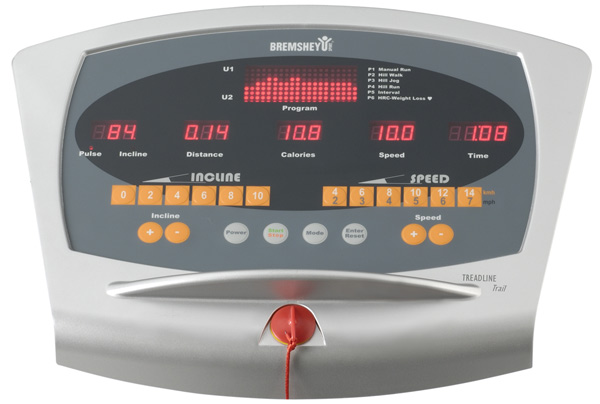 bremshey treadline trail treadmill best buy at sport tiedje. Black Bedroom Furniture Sets. Home Design Ideas