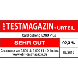 ETM Testsiegel EX90 Plus