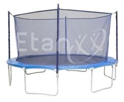 Etan filet de sécurité universel pour trampolines bleu