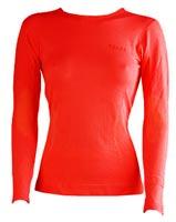 FalkeComfort Cool Long Sleeve Women, rossa Detailbild