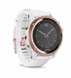 Garmin montre GPS multisport Fenix 3 Saphir dorée rose / blanche acheter maintenant en ligne