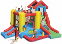 HappyHop bouncy castle Play Center 7 in 1  purchase online now