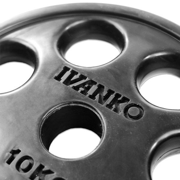 Ivanko Weight Rack: Ivanko E-Z Lift 50mm Rubber Weight Plate Best Buy At