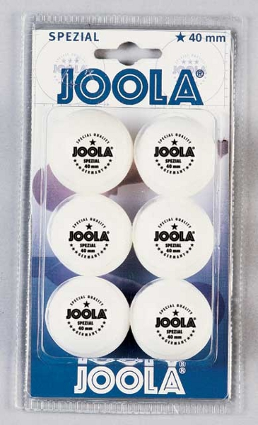 Balle de ping-pong Joola spéciale, set de 6