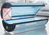 Dr. Kern tanning bed Atlantic 24/0 (2650 watt) Detailbild