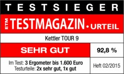 Testsiegel Kettler Tour 9