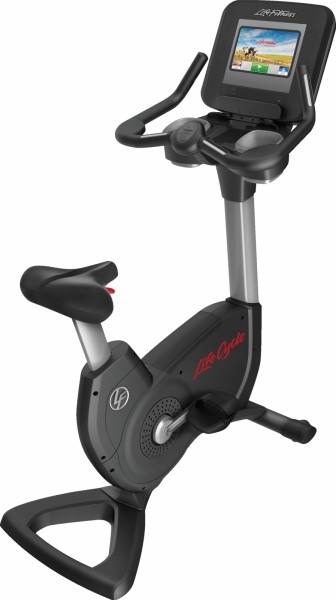 Life Fitness Platinum Club Series Discover SI Upright Bike WIFI