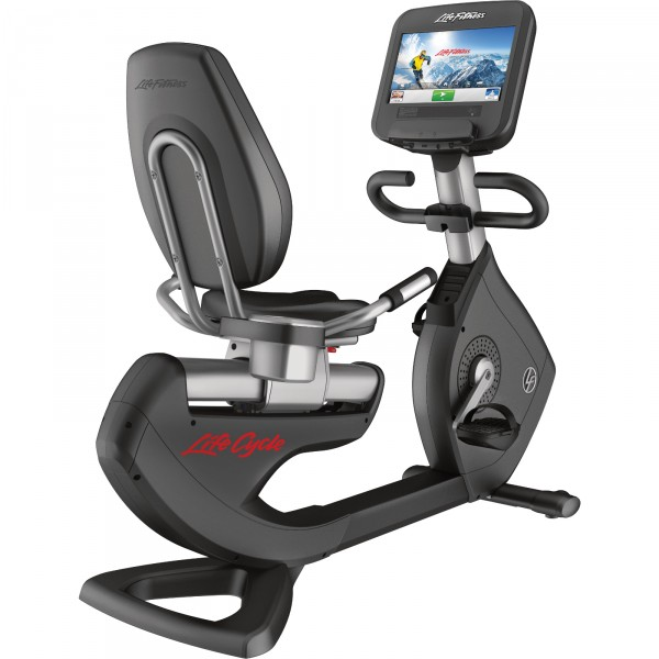 Life Fitness Recumbent Bike Platinum Club Series Discover SE