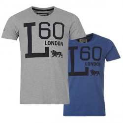 T-Shirt Lonsdale taille L Graphic Tee Detailbild