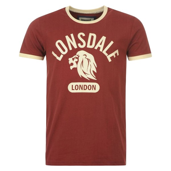 lonsdale t shirt men 39 s ringer tee buy test t fitness. Black Bedroom Furniture Sets. Home Design Ideas