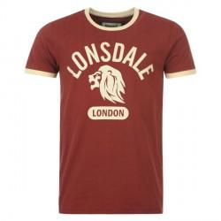 T-Shirt Lonsdale Mens Ringer Tee Detailbild