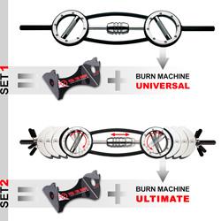 Men's Health Burn-Machine Universal / Ultimate incl. storage rack