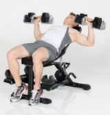Men´s Health banc de musculation PowerTools Sparks Detailbild