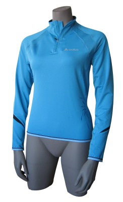 Odlo ActiveRun Long-Sleeved 1/2 Zip Shirt