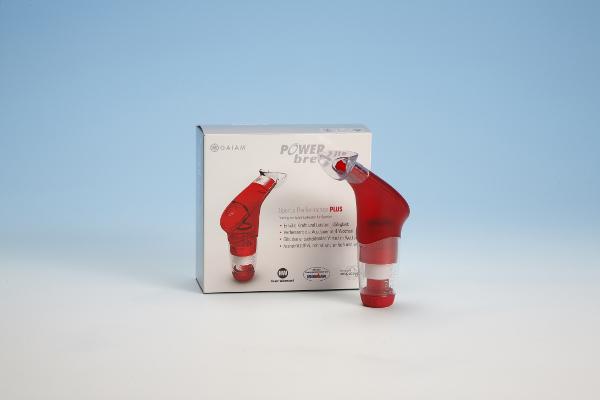 Entraîneur respiratoire à résistance élevée POWERbreathe Plus Fitness