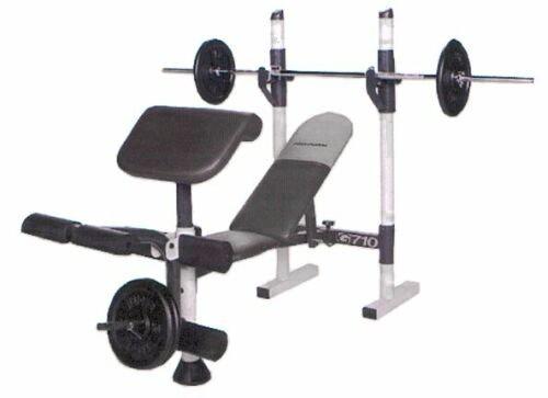 Banc de musculation proform g 710 acheter bon prix chez sport tiedje - Banc de musculation suntrack 410 ...