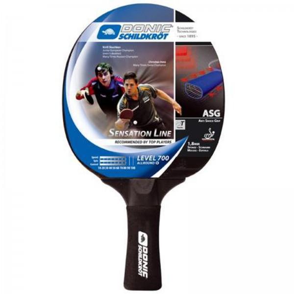 Raquette de ping-pong Donic-Schildkröt Sensation 700, concave
