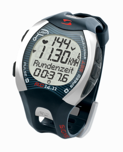 SIGMA RC 14.11 running computer/pulse watch
