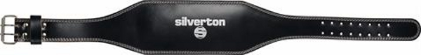 """Silverton weight lifting belt 6"""" leather"""