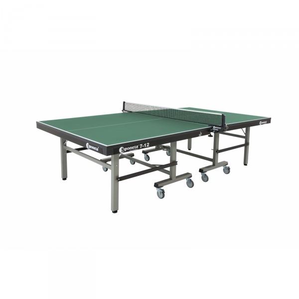 Sponeta Wettkampf-Tischtennisplatte S7-12 grün