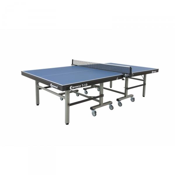 Sponeta Wettkampf-Tischtennisplatte S7-13 blau