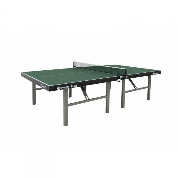 Sponeta table de ping-pong de compétition S7-22 verte