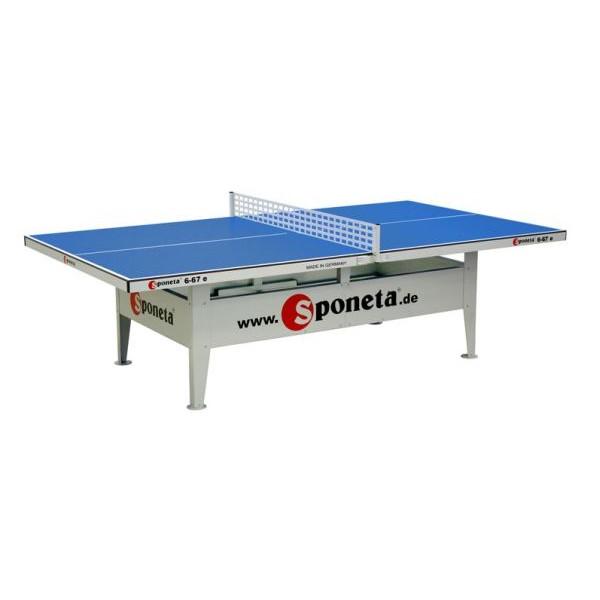 Sponeta Tavolo da Ping-Pong Outdoor S6-67e blu