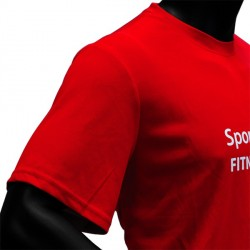 T-shirt technique « Sport-Tiedje Fitness Team » Detailbild