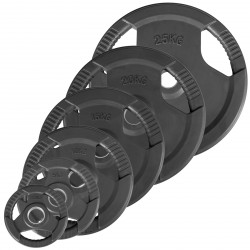 Sport-Tiedje 3G weight plate 50 mm rubberized purchase online now