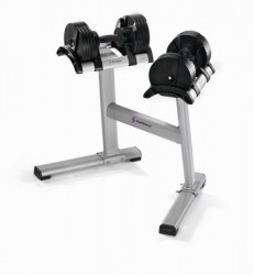 StairMaster weight rack for Twistlock dumbbell set