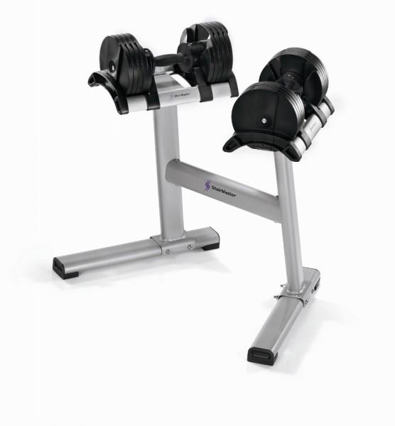 StairMaster weight rack for Twistlock dumbbell set
