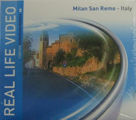 Tacx Real Life DVD Milano San Remo - Italia