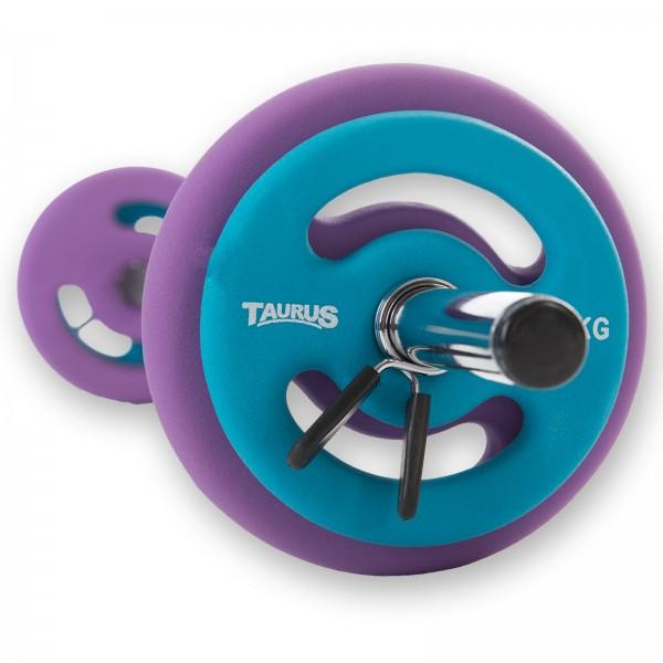 Taurus Premium Aerobic barbell set