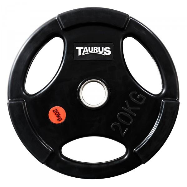 Taurus 3G Hantelscheibe 50 mm gummiert