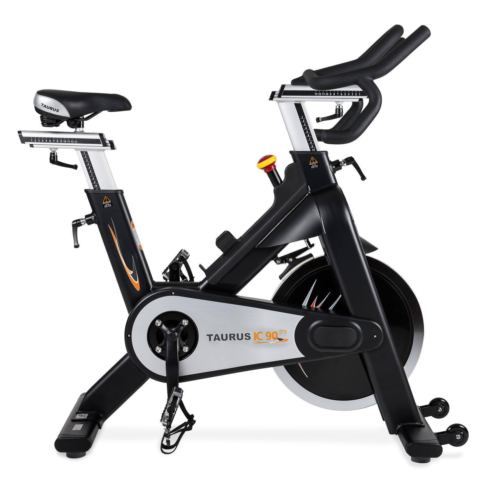 V lo d int rieur taurus indoor cycle ic90 pro acheter avec for Velo d interieur
