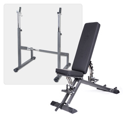 Taurus weight bench B900 incl. barbell training module