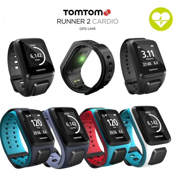 TomTom Runner 2 Cardio montre de sport GPS