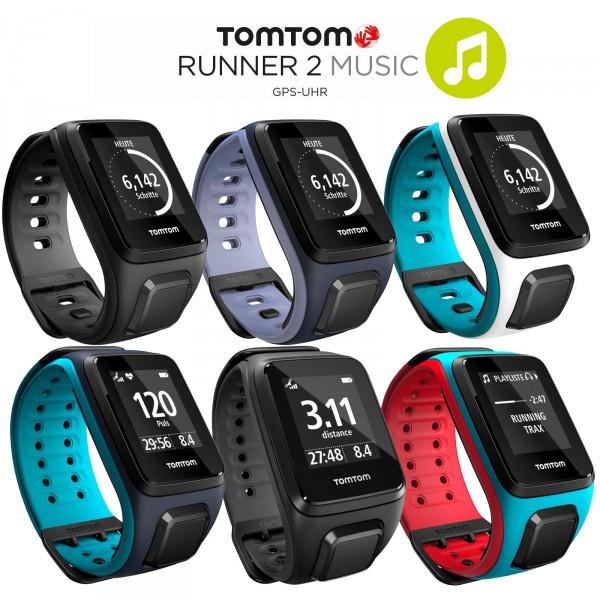 TomTom Runner 2 Music GPS-Sportuhr