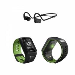 TomTom Runner 3 Cardio + Music GPS-Sportuhr inkl. Bluetooth-Sportkopfhörer acquistare adesso online
