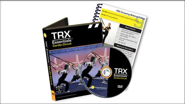 TRX® Biomechanics dvd avec exercices pour l'entraînement de dos
