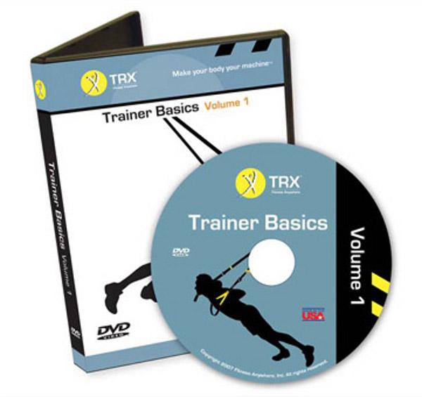 TRX DVD bases pour l'entraînement à boucle